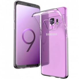Husa Samsung Galaxy S9 Plus, TPU slim transparent
