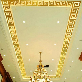 Set Oglinzi Design Versace - Oglinzi Decorative Acrilice Gold Plated - MyStyle Luxury Home 10 bucati/set