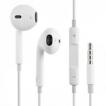 Casti audio Originale Apple MD827 Alb