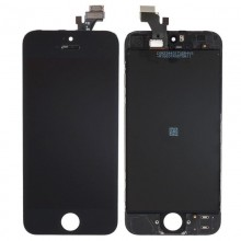 Display LCD compatibil Iphone 5S, Negru