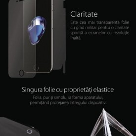 Folie Alien Surface HD, Samsung GALAXY S10 spate, laterale + Alien Fiber Cadou