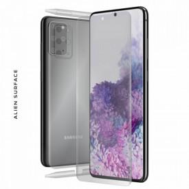 Folie Alien Surface HD, Samsung GALAXY S20 Plus fata, spate, laterale + Alien Fiber Cadou