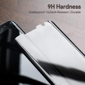 Folie de sticla 5D Samsung Galaxy S7 Edge, Privacy Glass, folie securizata duritate 9H