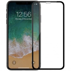 Folie de sticla Apple iPhone XR, MyStyle 9D FULL GLUE Negru