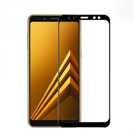 Folie de sticla Samsung Galaxy J4 Plus, 9D FULL GLUE Negru