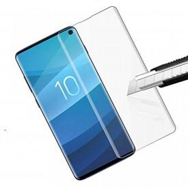 Folie de sticla Samsung Galaxy S10, FULL GLUE Transparent UV