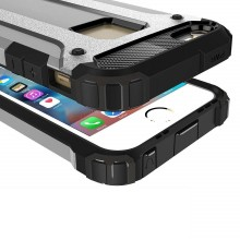 Husa Apple iPhone 6/6S, armour strong Silver