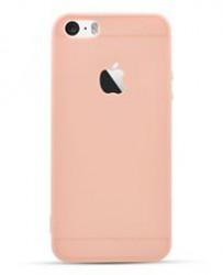 Husa Apple iPhone 6 Plus, Elegance Luxury Rose-Gold, Silicon TPU Antisoc cu decupaj logo