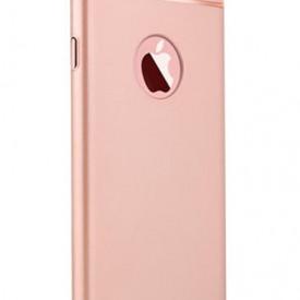 Husa Apple iPhone SE2, Elegance Luxury 3in1 Rose-Gold