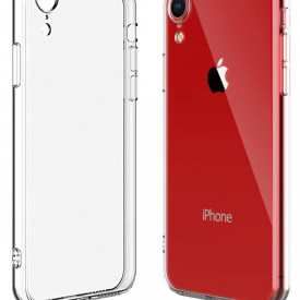 Husa Apple iPhone XR, Silicon TPU slim Transparenta