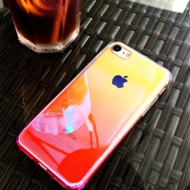 Husa Huawei P20 , Gradient Color Cameleon Roz / Pink