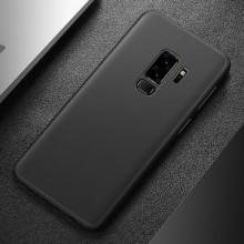 Husa Samsung Galaxy A8 2018, FullBody Elegance Luxury Negru, acoperire completa 360 grade cu folie de protectie gratis