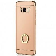 Husa Samsung Galaxy J5 2017, Elegance Luxury 3in1 Ring Auriu
