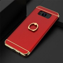 Husa Samsung Galaxy S8, Elegance Luxury 3in1 Ring Red