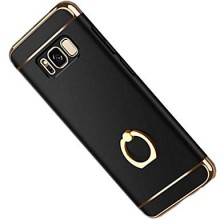 Husa Samsung Galaxy S8 Plus, Elegance Luxury 3in1 Ring Negru