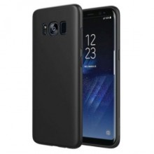 Husa Samsung Galaxy S8 Plus, Elegance Luxury slim antisoc Black