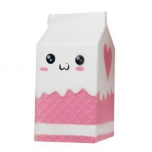 Jucarie Squishy cu revenire lenta in forma de cutie de lapte
