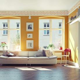 Set Oglinzi Design Versace - Oglinzi Decorative Acrilice Silver Plated - Luxury Home 12 bucati/set