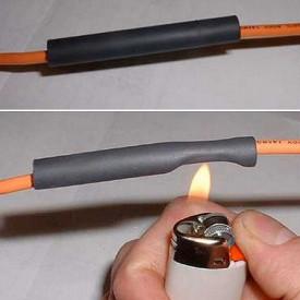 Tub Termocontractabil Varnis 164 buc / set, rezistente la foc, contractie 2 la 1