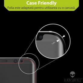 FOLIE ALIEN SURFACE HD, Apple iPhone 11, PROTECTIE SPATE+LATERALE + ALIEN FIBER CADOU