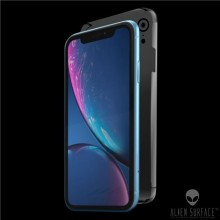 FOLIE ALIEN SURFACE HD, iPhone XR, PROTECTIE SPATE+LATERALE + ALIEN FIBER CADOU