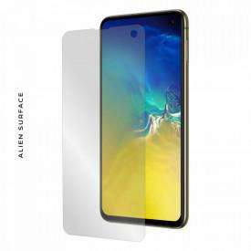 Folie Alien Surface HD, Samsung GALAXY S10e, protectie ecran + Alien Fiber Cadou
