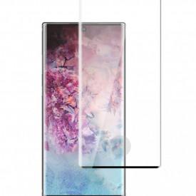 Folie de sticla pentru Samsung Galaxy Note 10 Plus, cu margini colorate Negru