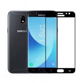 Folie de sticla Samsung Galaxy J3 2017, 5D FULL GLUE Negru