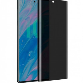Folie de sticla Samsung Galaxy Note 10 Plus, Privacy Glass, folie securizata duritate 9H