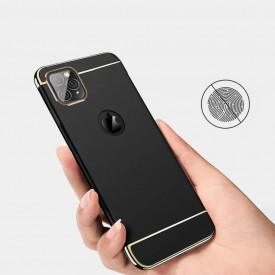 Husa Apple iPhone 11 PRO MAX, Elegance Luxury 3in1 Black