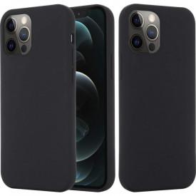 Husa Apple iPhone 12 MINI, Elegance Luxury, Silicon TPU Slim Antisoc NEGRU