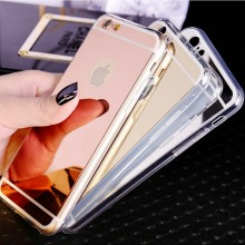 Husa Apple iPhone 6/6S, Elegance Luxury tip oglinda Gold