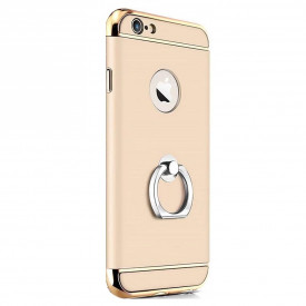 Husa Apple iPhone 7 Plus, Elegance Luxury 3in1 Ring Gold