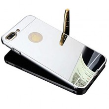 Husa Apple iPhone 7 Plus, Elegance Luxury tip oglinda Argintiu