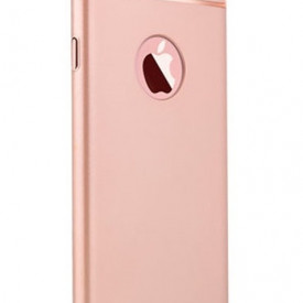 Husa Apple iPhone 8, Elegance Luxury 3in1 Rose-Gold