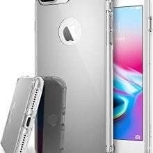 Husa Apple iPhone 8 Plus, Elegance Luxury tip oglinda Argintiu