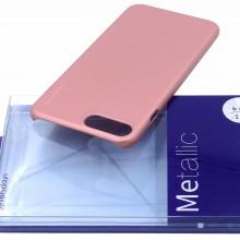 Husa Apple iPhone X, Elegance Luxury X-LEVEL Metalic Rose-Gold