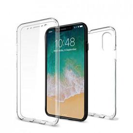 Husa Apple iPhone X, FullBody Elegance Luxury ultra slim silicon TPU , acoperire completa 360 grade