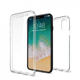 Husa Apple iPhone X, FullBody ultra slim silicon TPU , acoperire completa 360 grade