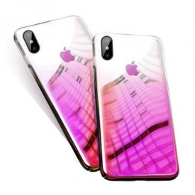 Husa Huawei MATE 20, MyStyle Gradient Color Cameleon Roz / Pink