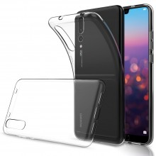 Husa Huawei P20 PRO Plus, TPU slim transparent