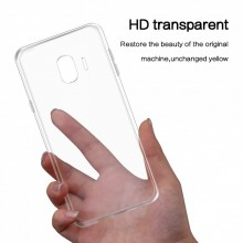 Husa Samsung Galaxy J4 Plus, Silicon TPU Transparent