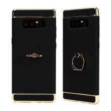 Husa Samsung Galaxy Note 8, Elegance Luxury 3in1 Ring Black