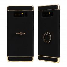 Husa Samsung Galaxy Note 8, Elegance Luxury 3in1 Ring Negru