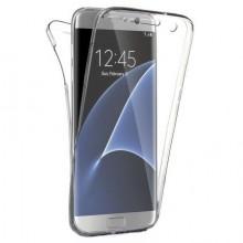 Husa Samsung Galaxy S6 Edge, FullBody 360º ultra slim TPU, acoperire fata spate