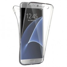 Husa Samsung Galaxy S6 Edge, FullBody Elegance Luxury 360º ultra slim TPU, acoperire fata spate