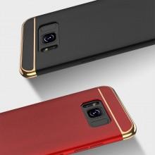 Husa Samsung Galaxy S8, Elegance Luxury 3in1 Rosu
