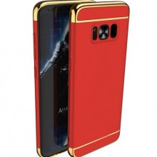 Husa Samsung Galaxy S8 Plus, Elegance Luxury 3in1 Red