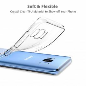 Husa Samsung Galaxy S8 Plus, TPU slim transparent