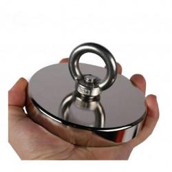Magnet neodim oală D120 mm cârlig inelar rotativ magnet fishing 480kg